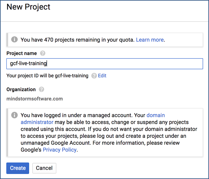 Google Cloud Functions Tutorial : Writing our first Google