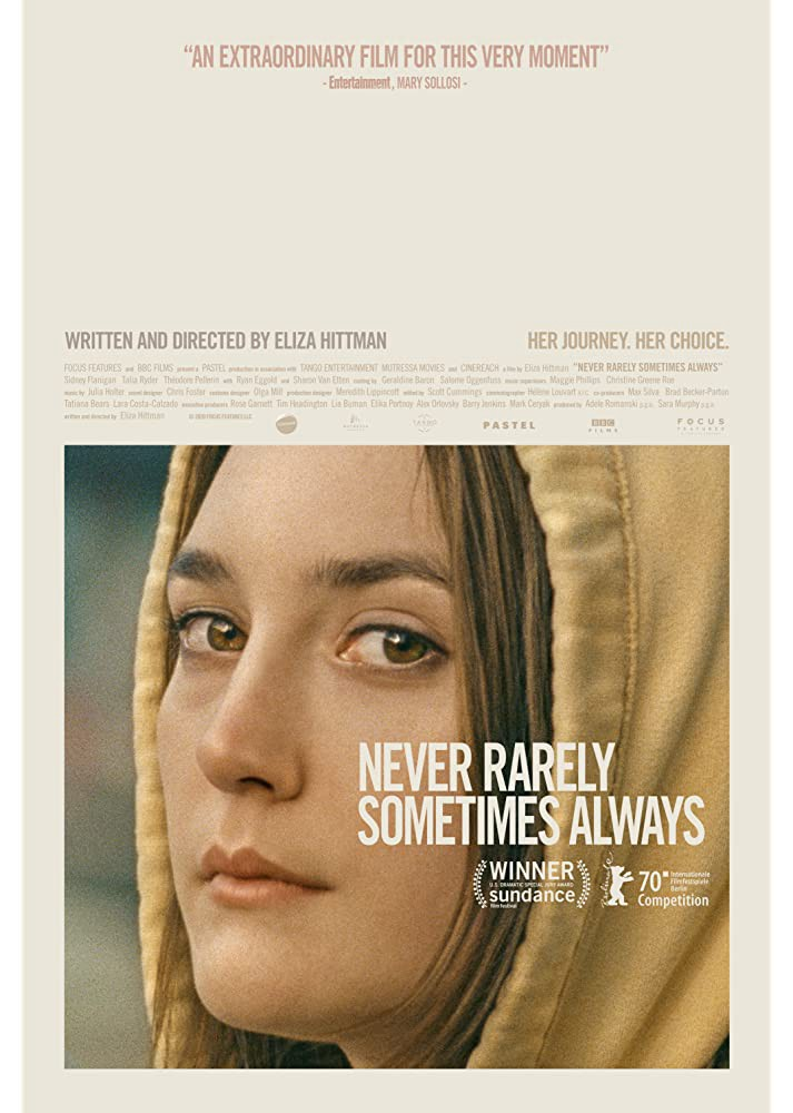 Full Watch Never Rarely Sometimes Always 2020 Complete Movies By Anma Jul 2020 Medium