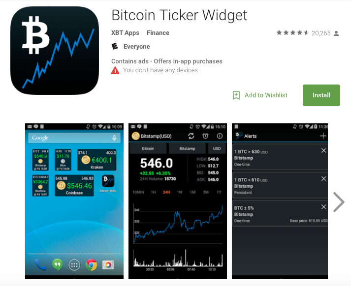 best crypto android app