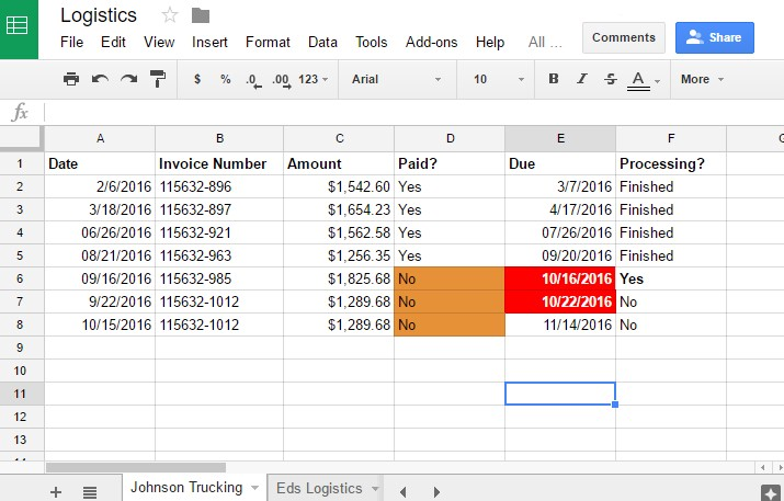 Three Ways to Format Cells in Google Sheets So Numbers Stand Out