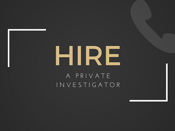 Reasons Why You Should Hire A Private Investigator - Geek