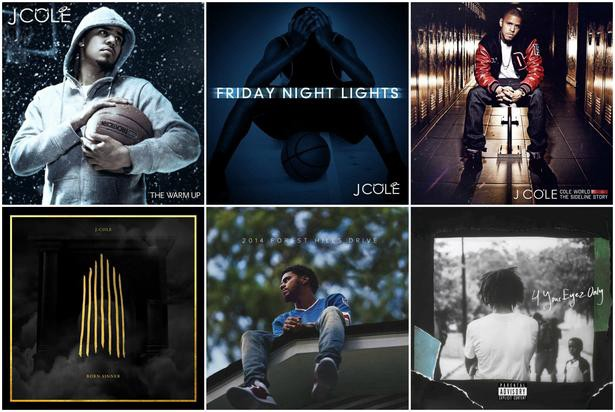 All 8 J Cole Projects Ranked Snobhop Medium