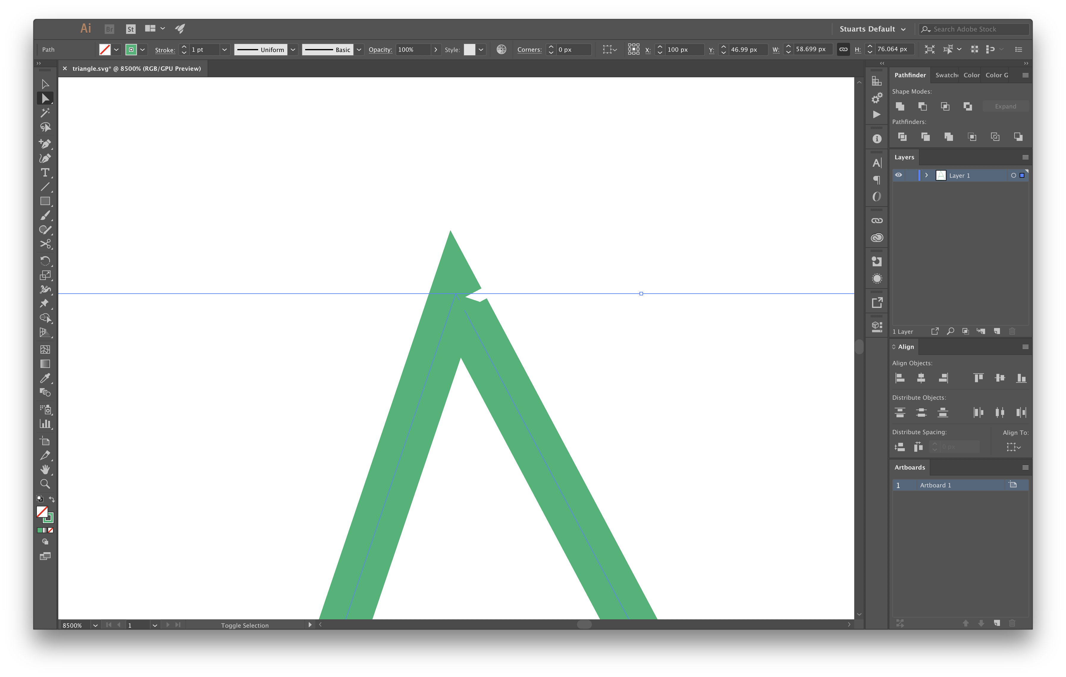 How to move starting point of a SVG line drawing animation