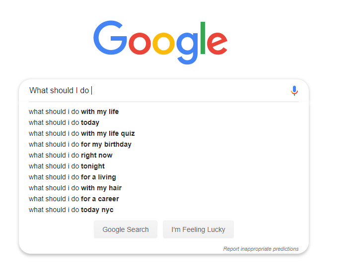 Rich results on Google's SERP when searching for 'Short Tail Keyword' and utilize them as 'Long-Tail Keyword'