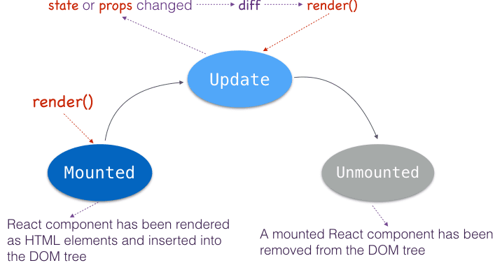 Component Life Cycle in React