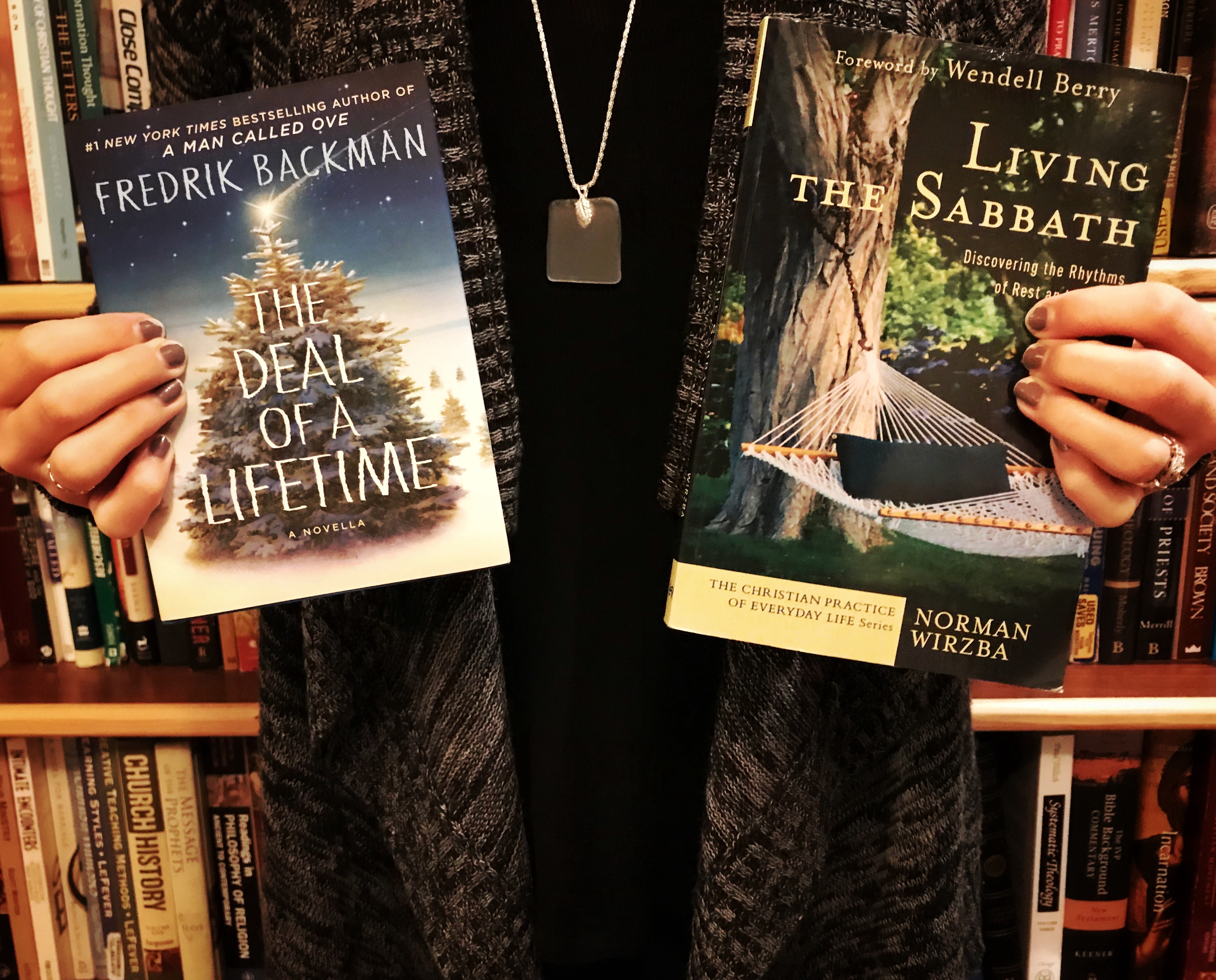 Book Pairing: Living the Sabbath and The Deal of a Lifetime