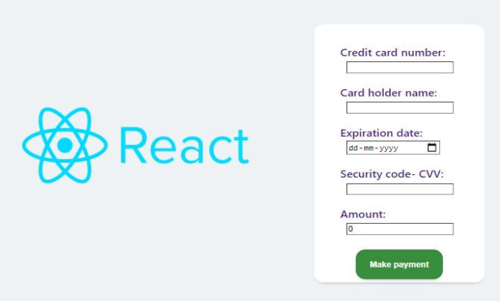 Modelling A Credit Card Payment Portal Using React, Redux And Formik