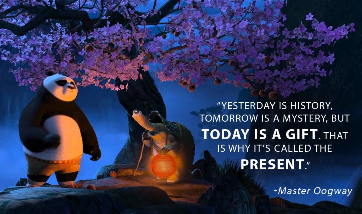 Inspirational Quote On Life By Master Oogway By Kunaal Naik Medium