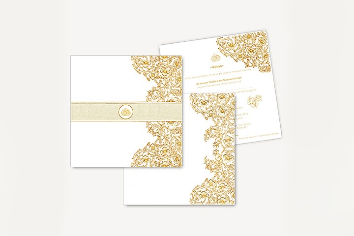 Exquisite Designer Islamic Wedding Cards: Perfect For Every Occasion