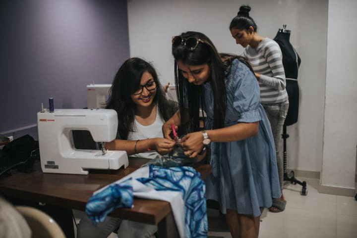 Inifd Fashion Designing Institute In Rajkot Vishwapatel Medium