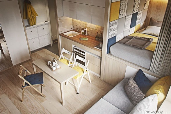 Most Professionals, At One Point In Life Or Another, Find Themselves Living  In A Compact Space. For Compact Spaces, Selecting The Right Furniture Can  Be The ...