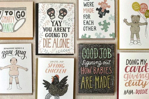 What Inspires Amanda Wright To Sell Handmade Greeting Cards In The 21st Century