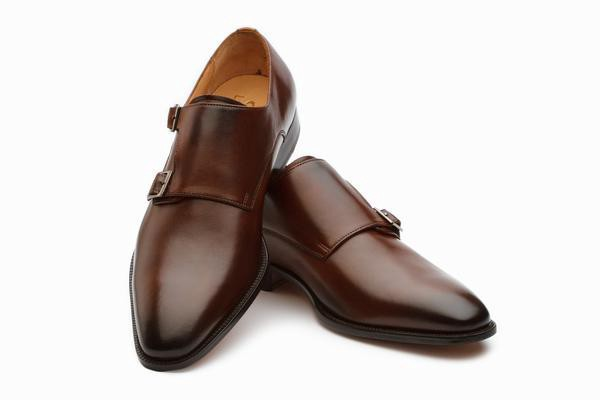 Mens Brown Monk Strap Shoes Online Shop In Uae Kings Traders