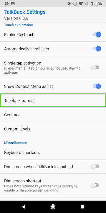 Tutorial: Debugging Android Accessibility - With Intent