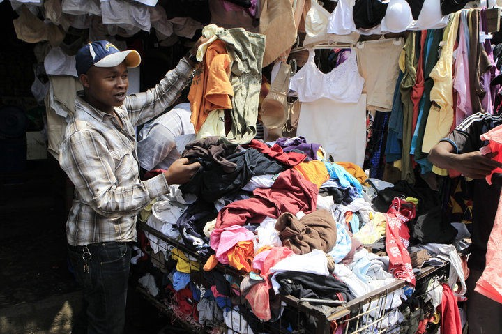 Trump's Trade War in Africa Over Second-hand Clothes | by Harriet Kariuki |  Medium