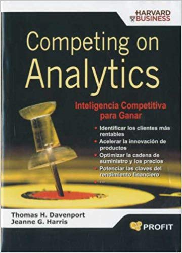 Competing on Analytics authored by Thomas Davenport