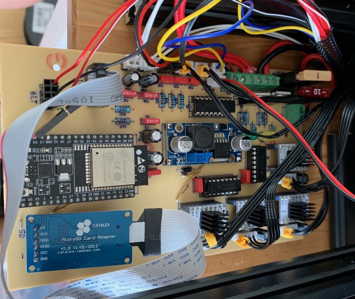 This Open Source ESP32 3D Printer Control Board Now Supports