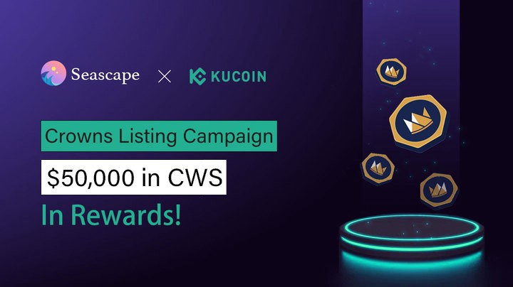 Crowns Listing with Kucoin Campaign!