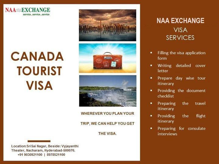 Reach Naa Exchange For Canada Tourist Visa Assistance By Naa Exchange Medium