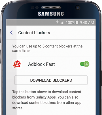 Adblock Fast 2 0 for Android - Rocketship Log
