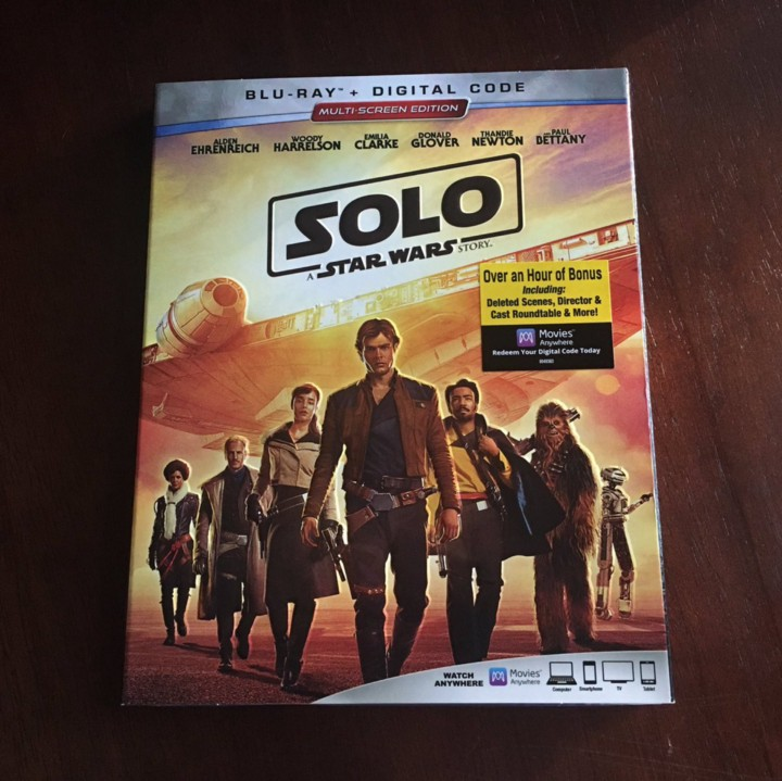 New on Blu — SOLO: A STAR WARS STORY - Cinapse