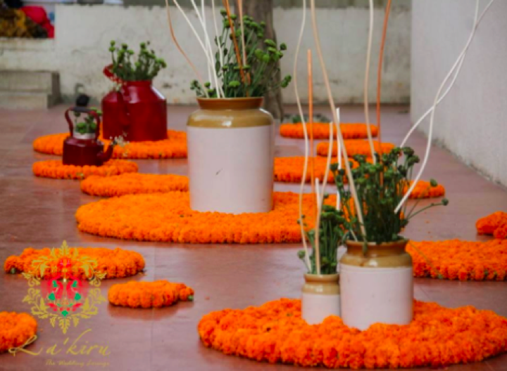 Budgetweddings Low Cost Mayun Decor Ideas Just Because Medium