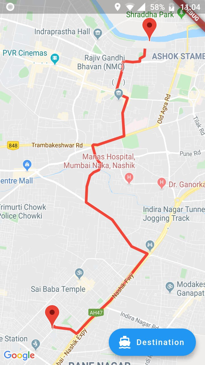 Flutter Google Map With Direction Shubham Narkhede Medium