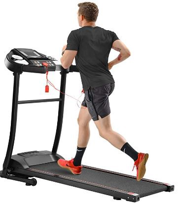 Merax Easy Assembly Folding — Best Treadmill for Apartment