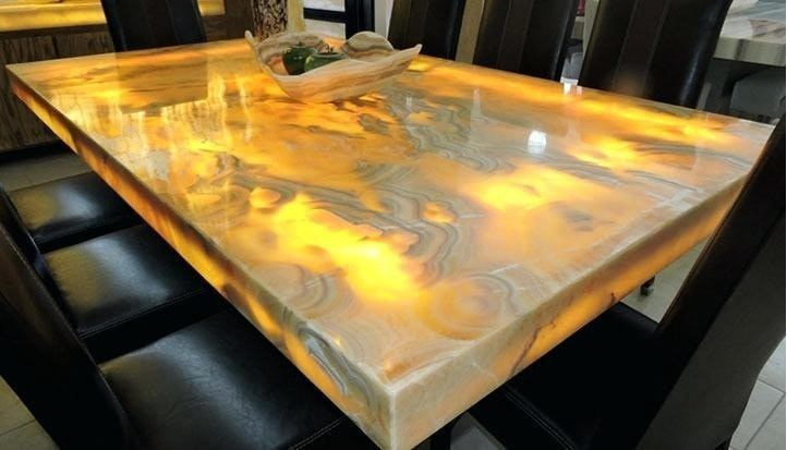 A Match Made in Heaven: Custom Natural Stone Slab Dining Tables | by  Granite Imports | Medium