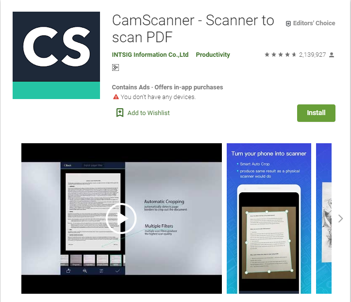 Best Document Scanning App For Android - Ronak Patel - Medium
