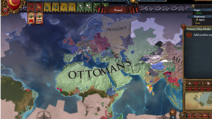 EUIV: Alternate History  Being an Ottoman Emperor and