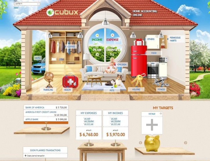 Household Budget Worksheet How To Plan Finances With Cubux By Cubux Budget Medium