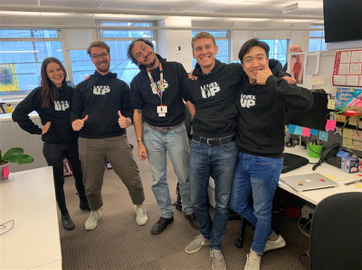 The Level Up team photo