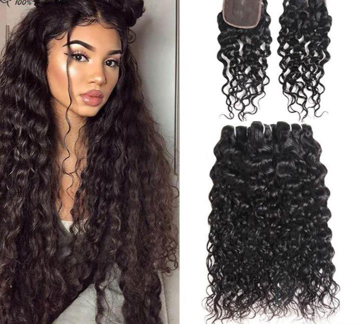 100% Virgin human hair extensions