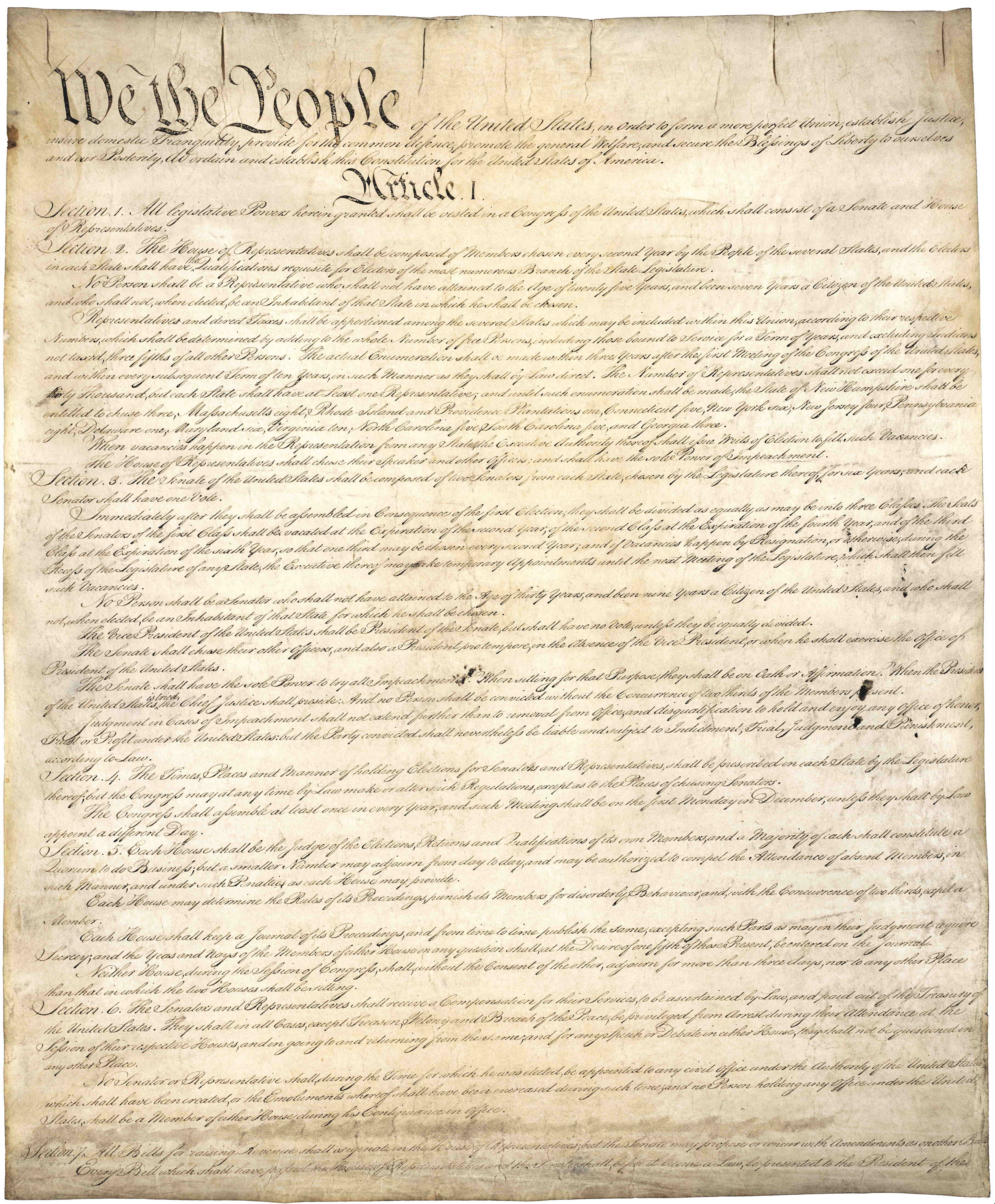 By Constitutional Convention—U.S. National Archives and Records Administration, Public Domain, https://commons.wikimedia.or