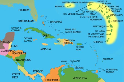 Map Of Florida Cuba And Puerto Rico.Article 1 History And Culture Of The Republic Of Cuba Isla