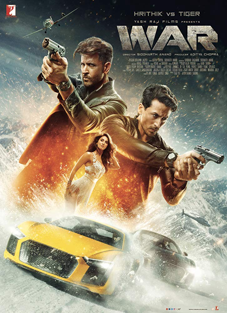 War (2019) Hindi (Soft Codec English Subtitle) Pre-DvDRip 720P x264 AAC 700MB