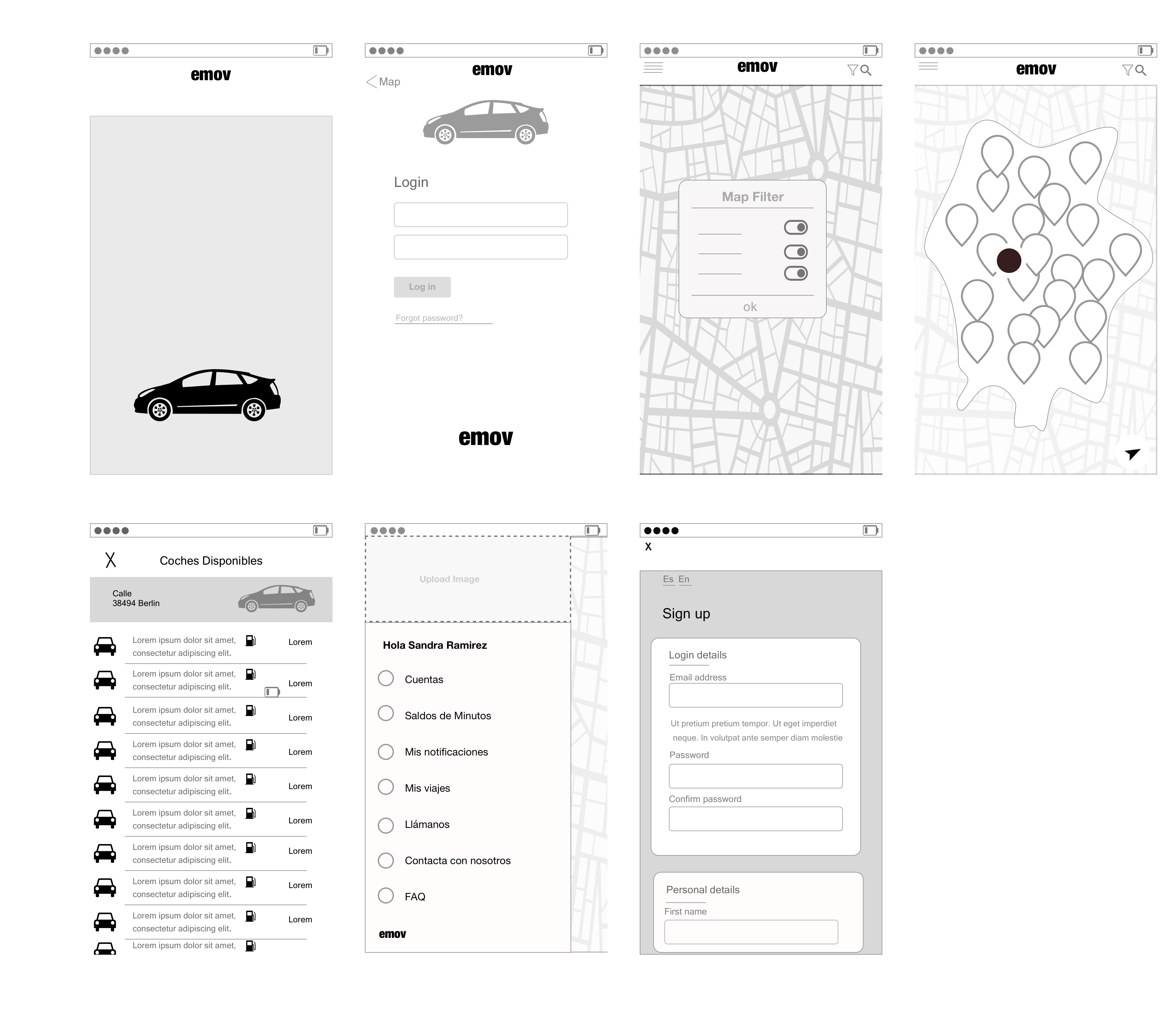 Wireframing Challenge For This Exercise We Had To Create By Ruth Prieto Arenas Medium