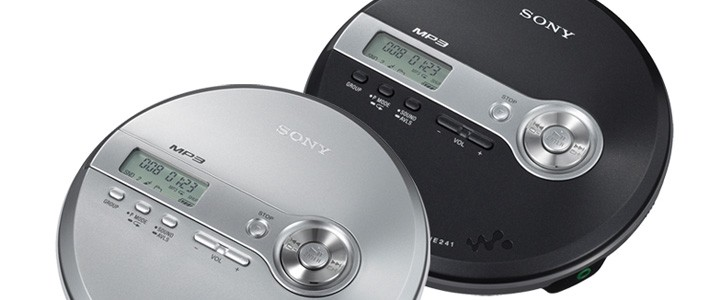 New CD Walkman with MP3 Player from Sony - Sony Reconsidered