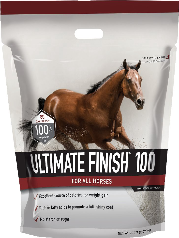 Buckeye Nutrition Ultimate Finish 100 Granulated Fat Horse Supplement