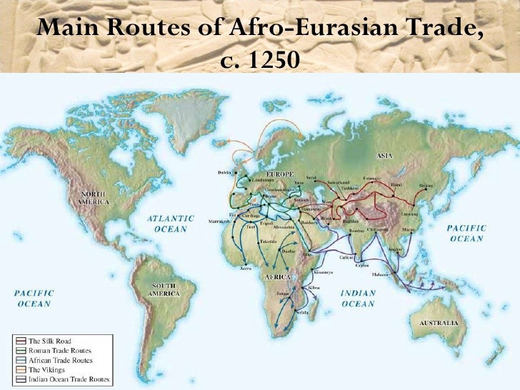 Early Global Connections: Asia, and Mediterranean Europe and Africa