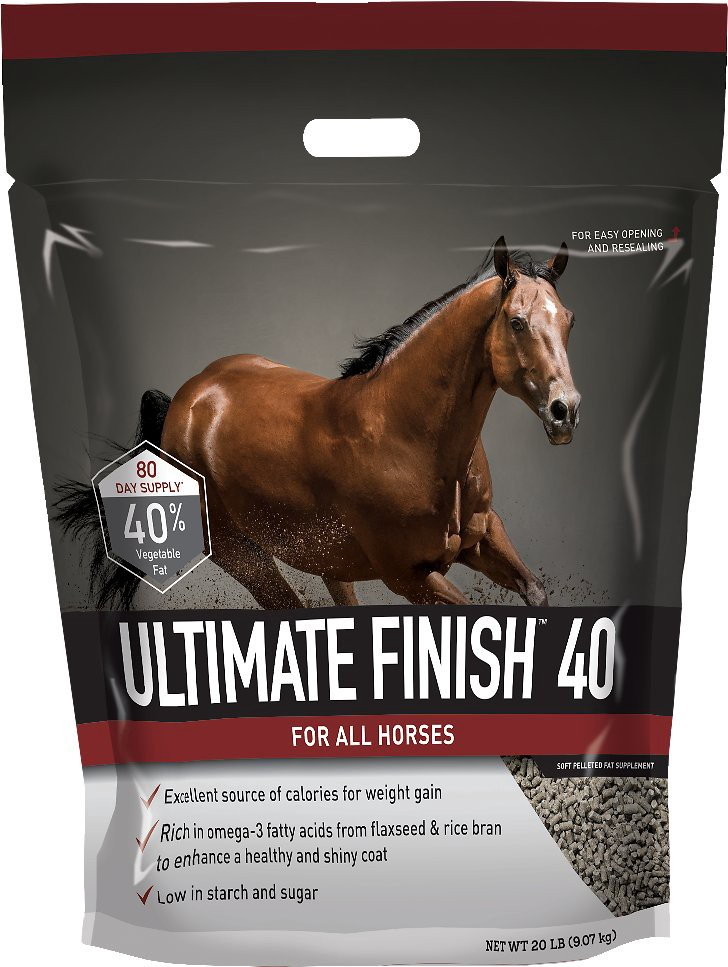 Buckeye Nutrition Ultimate Finish 40 Pelleted Fat Horse Supplement