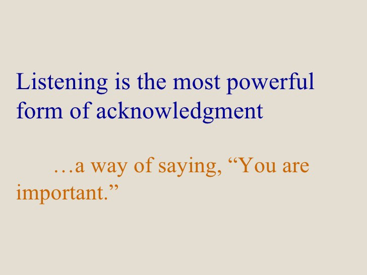 Image result for the power of listening