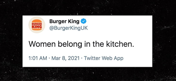 Burger King Had To See This Coming Right By Jonah Malin Mar 2021 Better Marketing