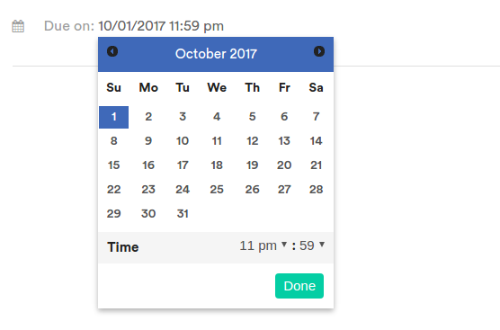 Make configurable datetimepicker directive in Angular v 2,v 4
