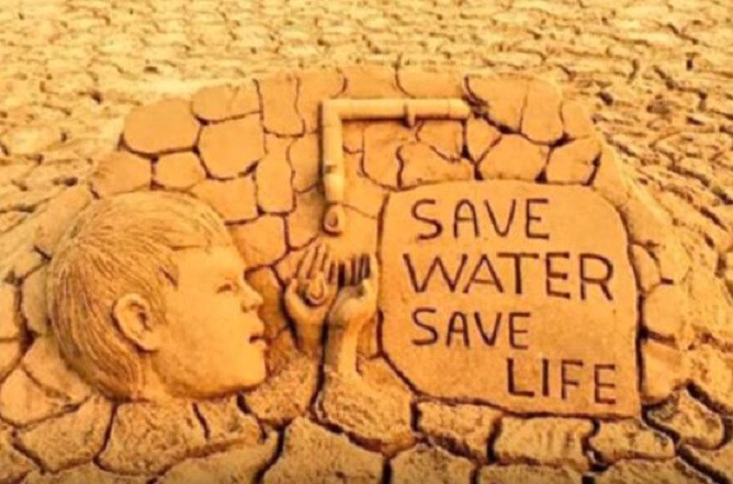 project on save water save life