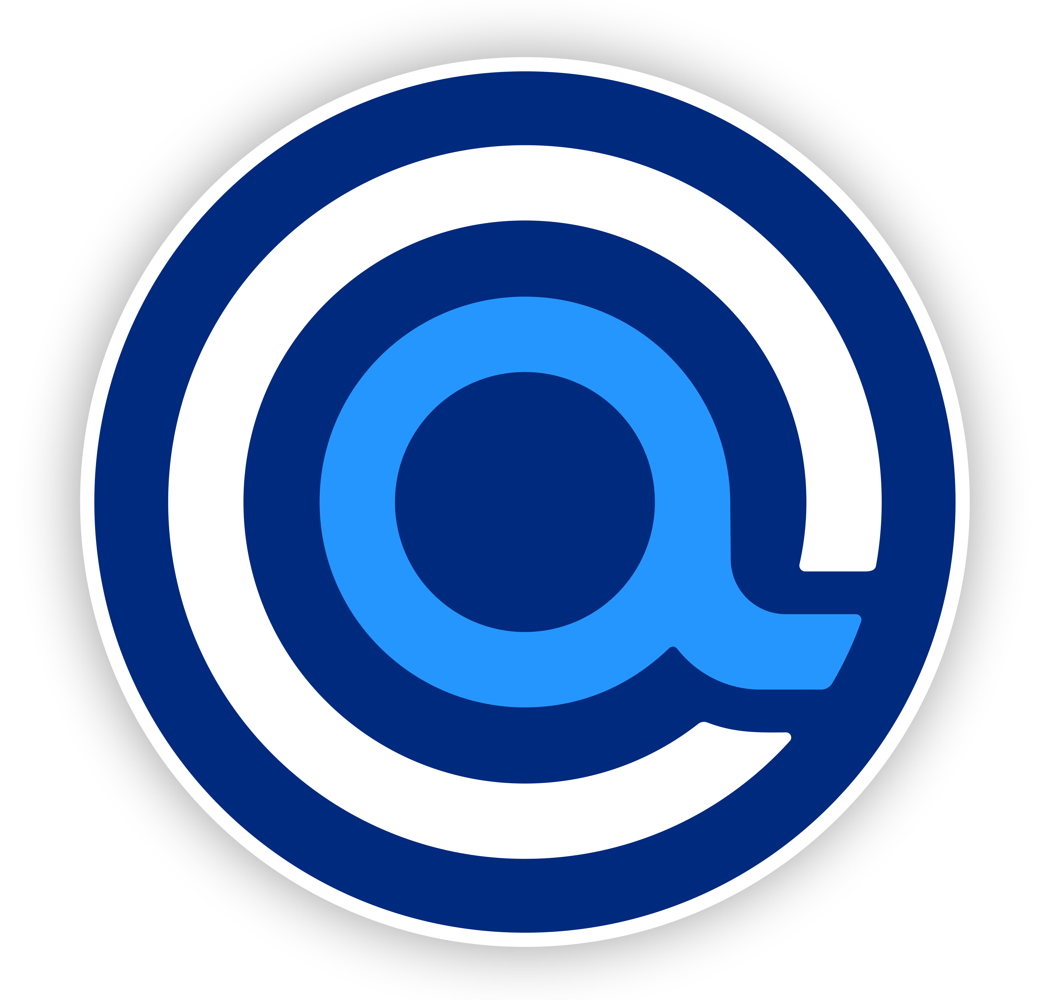 """Accessible.org iconic circle """"a"""" logo symbolizing accessibility and inclusiveness."""