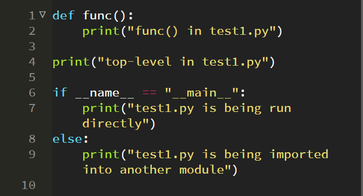 """What is """"__name__"""" and """"__main__"""" in Python?"""