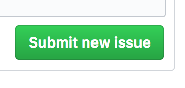 "Screen capture of the ""Submit new issue"" button."