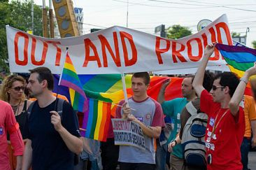 Gay pride is a positive response to misrecognition.